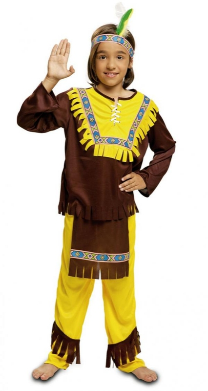 Dětský kostým Indián - Maxi-karneval.cz 37cd822893