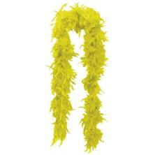 Dámské boa Žluté