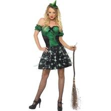 Dámský kostým Sexy čarodějnice svítící