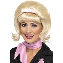 Paruka Flicked Beehive Bob blond