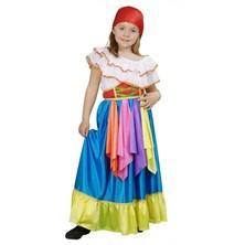 Dětský kostým Cikánka
