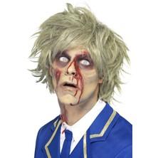 Paruka Zombie na halloween
