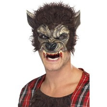 Maska Vlkodlak poloviční maska pro dospělé