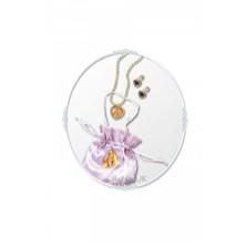 Kabelka a náhrdelník s naušnicemi Na vlásku