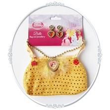 Kabelka a náhrdelník s naušnicemi Kráska a zvíře