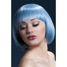 Paruka Mia pastelová modrá