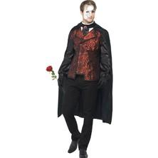 Pánský kostým temna opěrní maškaráda