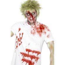 Krev na oblečení ve spreji