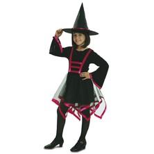 Dětský kostým Čarodějnice lux
