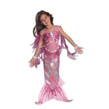 kostým Mořská panna růžová
