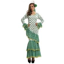 Kostým Tanečnice flamenga zelená