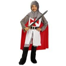 Dětský kostým Středověký rytíř s pláštěm