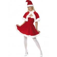 Vánoční kostým Miss Santa