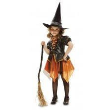 Dětský kostým Čarodějnice lll