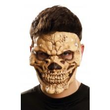 Maska obličejová Zlověstná lebka