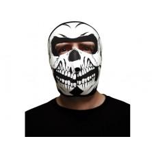 Textilní maska lebky