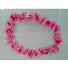 Havajský květinový věnec - růžový