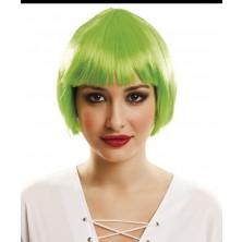 Paruka Mikádo zelená