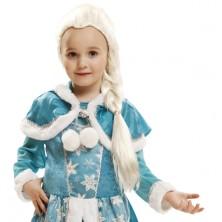 Dětská paruka Ledová královna Elsa