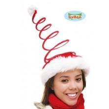 Vánoční čepice-spirála