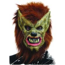 Maska vlkodlaka s vlasy