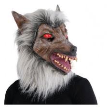 Maska vlka s hřívou
