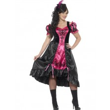 Kostým Dívka ze saloonu