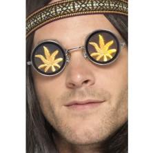 Brýle Hippy kulaté Marihuana