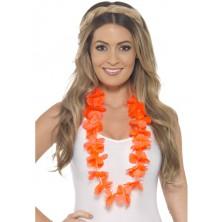 Havajský věnec oranžový