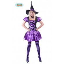 kostým čarodějnie na Halloween
