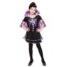 Dětský kostým na Halloween Upíří kostlivka