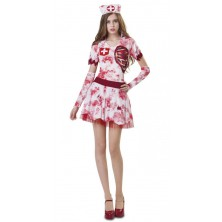 Kostým Halloween Zombie sestřička