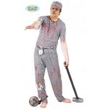 Halloweenský kostým trestanec