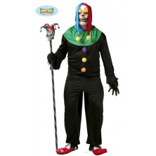 halloweenský kostým klauna