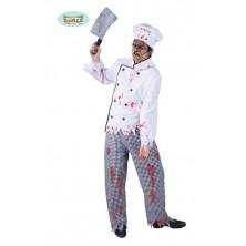 Kostým zombie kuchař