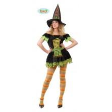 maškarní kostým čarodějnice