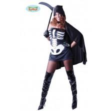dámský kostým smrtky na halloween