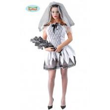 halloweenský kostým nevěsta
