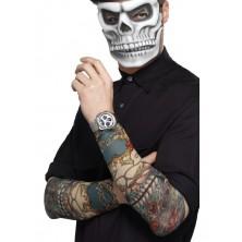 Rukávy s tetováním Day of the dead