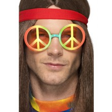 Brýle hippie, duhové