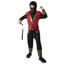 Dětský kostým Červený Ninja