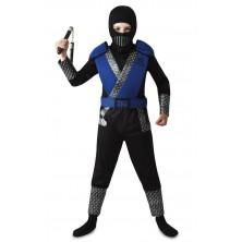 Dětský kostým Modrý Ninja