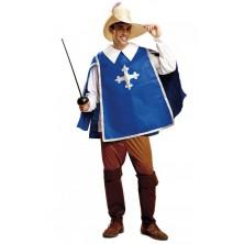 Kostým Mušketýr modrý
