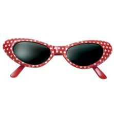 Brýle Červené s bílými puntíky