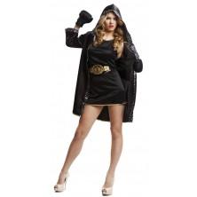 Kostým Boxerka černá