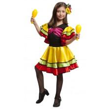 Dětský kostým Tanečnice rumby