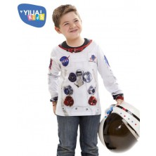 Dětské tričko 3D Astronaut