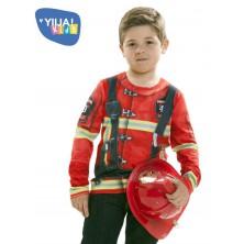Dětské tričko 3D Hasič/ka