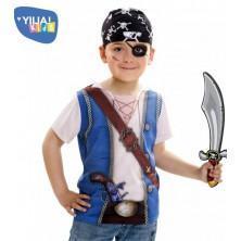 Dětské tričko 3D Pirát
