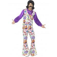 Kostým Hippie vzorovaný